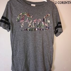 Vs PINK grey T-shirt